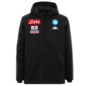 SSC Napoli soccer training/presentation bench jacket 2016/17 - Kappa