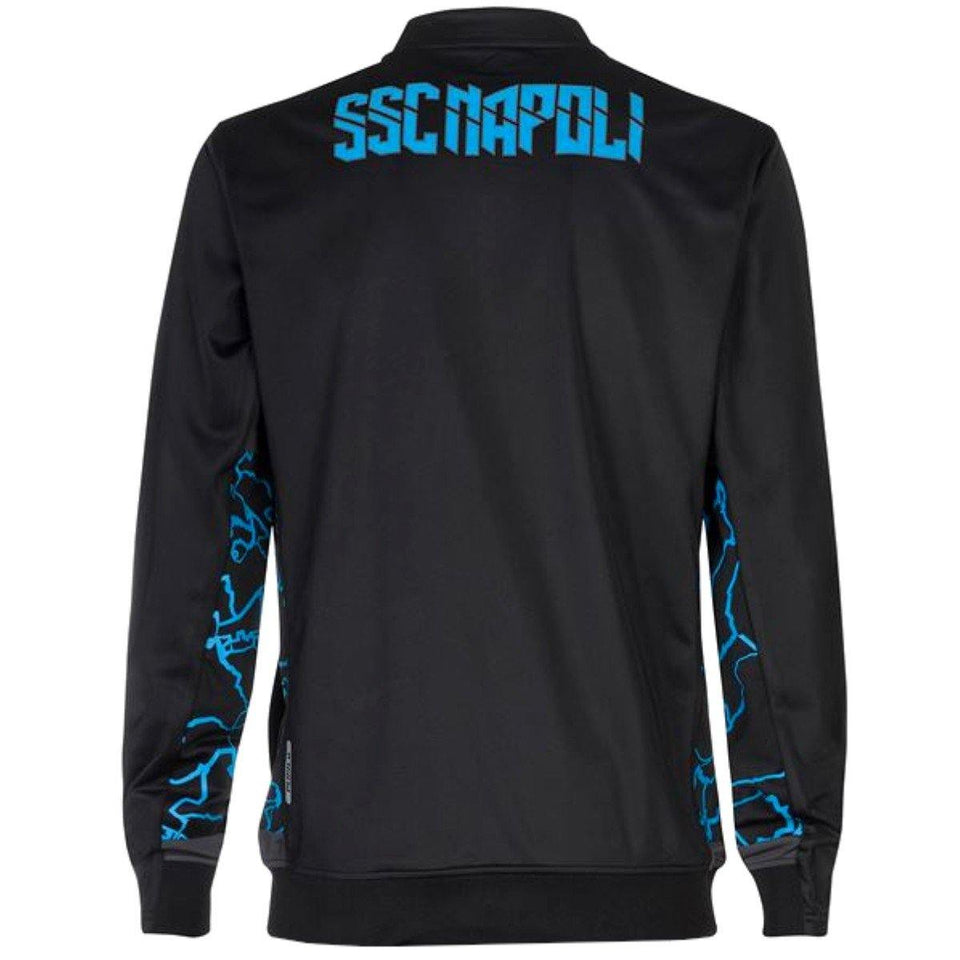 SSC Napoli Special Edition camo black soccer tracksuit 2019/20 - Kappa - SoccerTracksuits.com