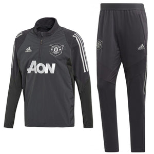 Manchester United training technical soccer tracksuit UCL 2019/20 - Adidas - SoccerTracksuits.com