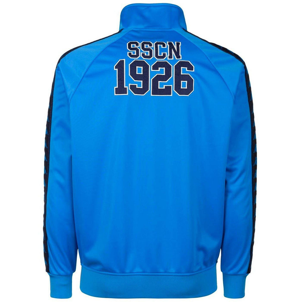 SSC Napoli Limited Edition casual soccer tracksuit 2018/19 light blue - Kappa - SoccerTracksuits.com