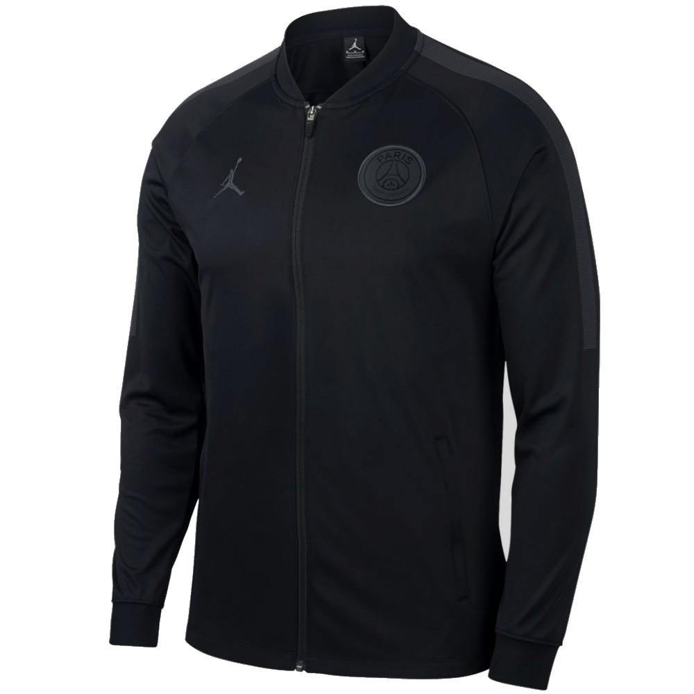 los angeles buy best huge inventory Jordan x PSG black presentation soccer tracksuit UCL 2018/19 - Jordan