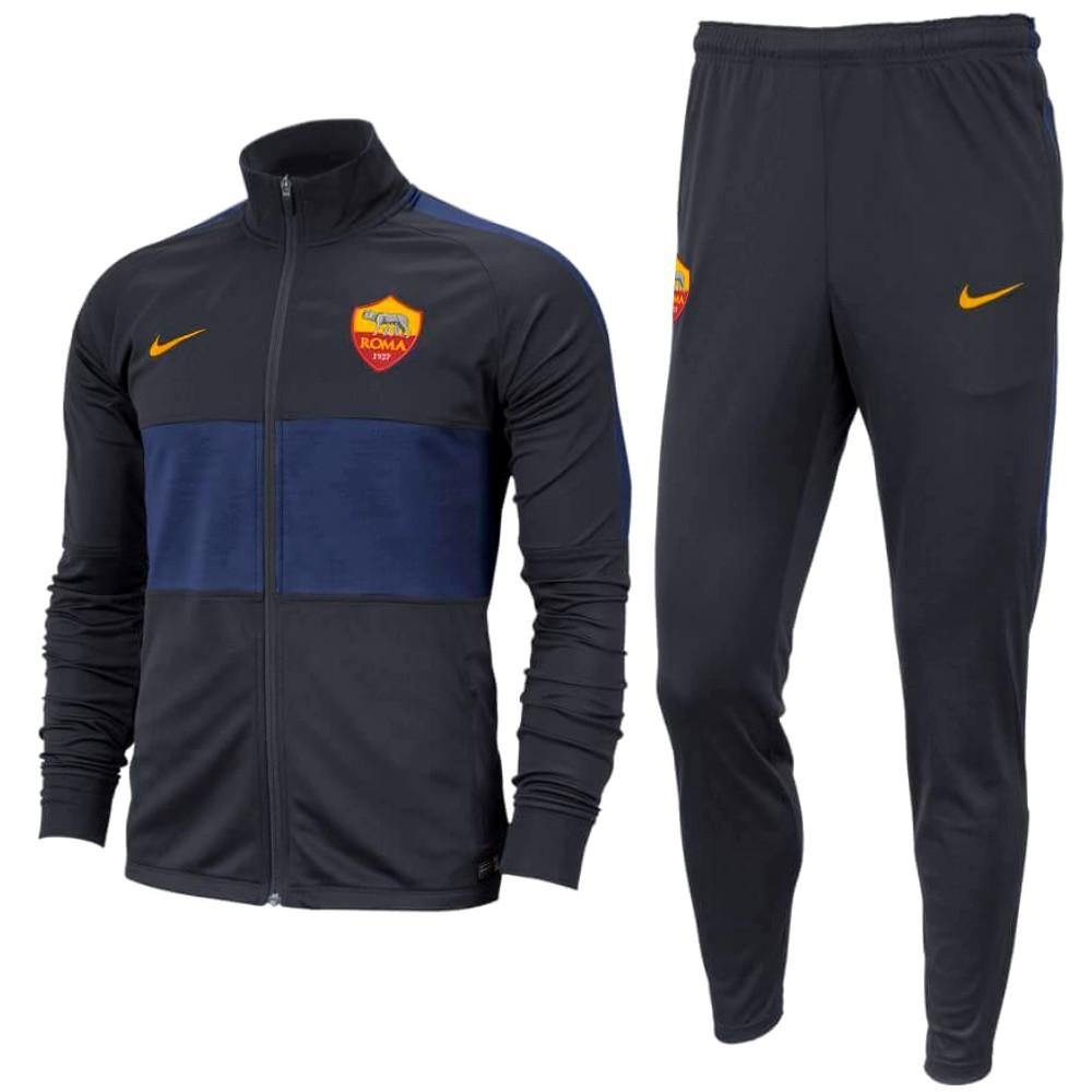 AS Roma training presentation soccer tracksuit 201920 Nike