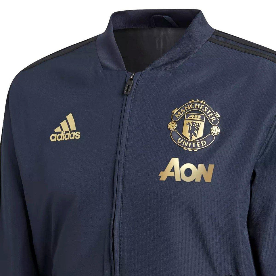 san francisco 6f144 abbb6 Manchester United training presentation soccer tracksuit UCL ...