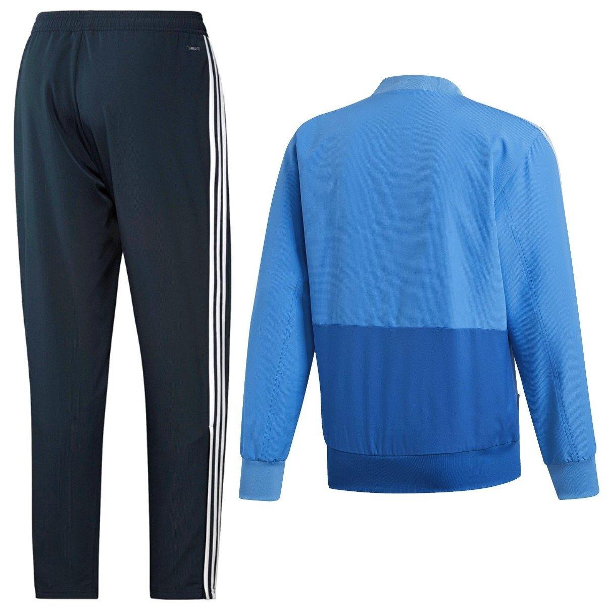 5ed4b2364eb real madrid soccer presentation tracksuit light blue 2019 – adidas.  Download Image 1200 X 1200