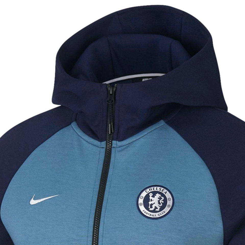 Chelsea FC Tech Fleece presentation soccer jacket 2018/19 - Nike - SoccerTracksuits.com