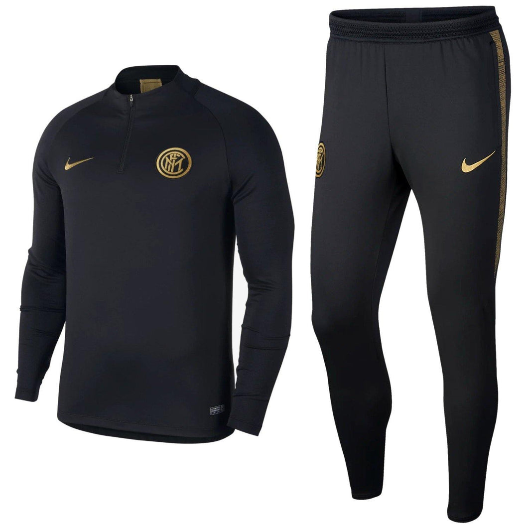Inter Milan soccer training technical tracksuit 2019/20 - Nike - SoccerTracksuits.com