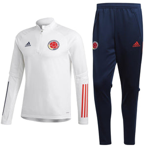 Colombia soccer team training technical tracksuit 2020/21 - Adidas - SoccerTracksuits.com