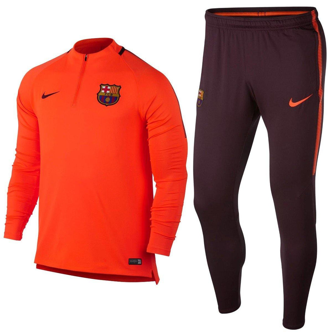 FC Barcelona UCL training technical soccer tracksuit 2017/18 - Nike - SoccerTracksuits.com