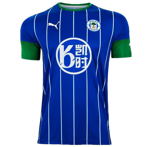 Wigan Athletic Home soccer jersey 2019/20 - Puma - SoccerTracksuits.com