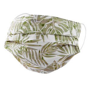 Tropical Leaf Face Mask