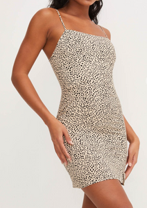 Linny Leopard Mini Dress