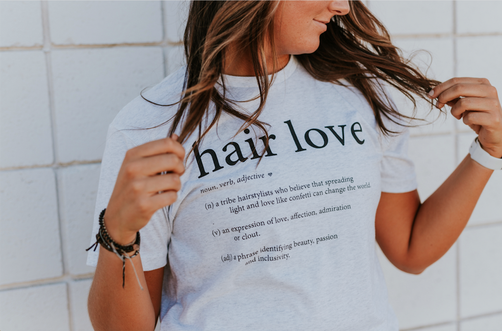 Hair Love Definition Tee