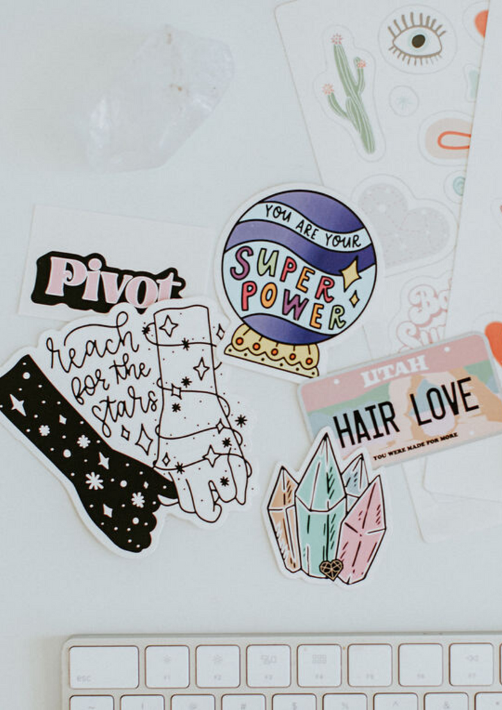 All 5 Hair Love Stickers