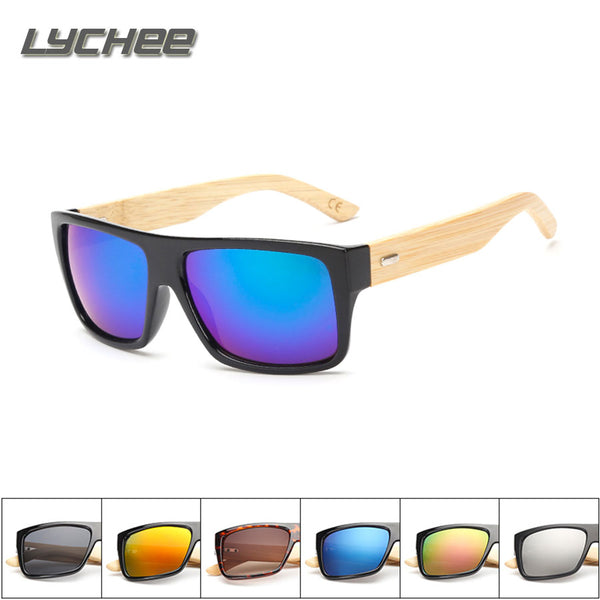 Men's Wooden Feet Designer Sunglasses by LYCHEE