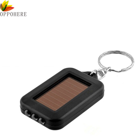 Solar-Powered 3 LED Keychain [AMAZING PRICE]