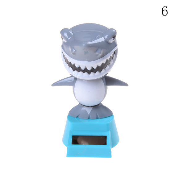 Solar-Powered Shark or Skeleton Bobble-Head [DON'T MISS OUT]