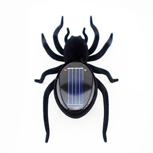 Have Fun with this Scary Solar-Powered Vibrating Spider![FREE SHIPPING]