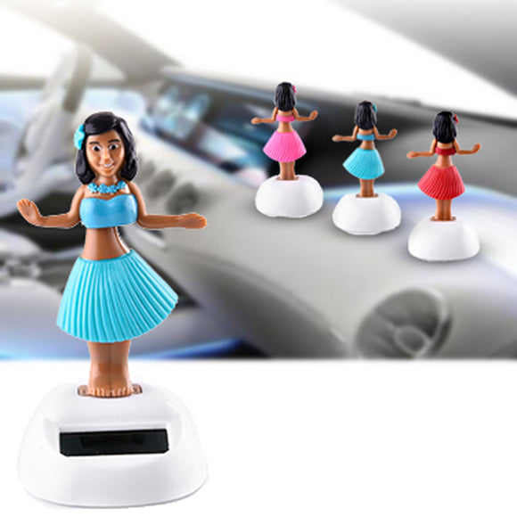 Beautiful solar bobble hula girl [SPECIAL OFFER]