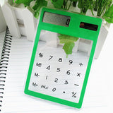 Unbelievably Cool Transparent Solar Calculator [50% OFF +Free Shipping]