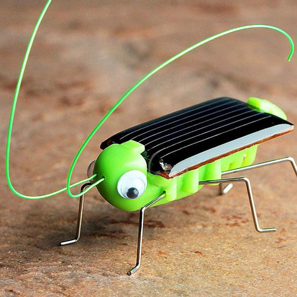 CUTE solar-powered vibrating Grasshopper [FREE SHIPPING]