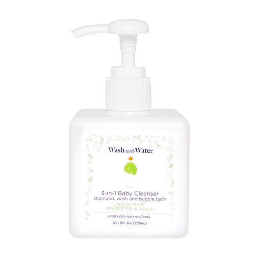 3-in-1 Baby Cleanser | Sweetpea & Me | Wash with Water