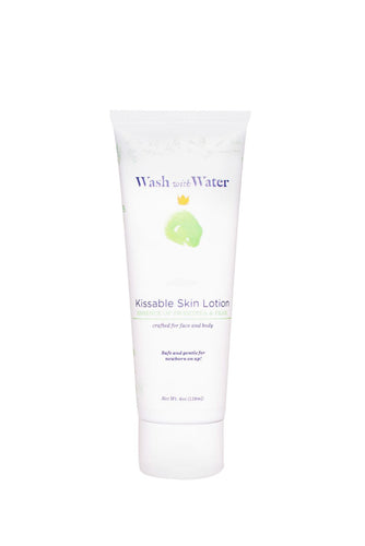 Kissable Skin Lotion | 4 oz | Sweetpea & Me | Wash with Water