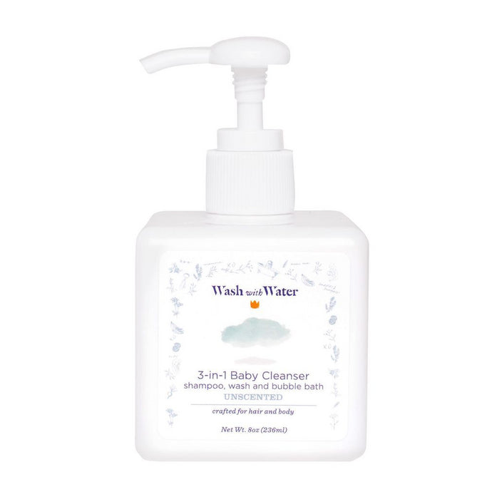 3-in-1 Baby Cleanser | 8 oz | unscented