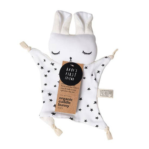 Organic Cuddle Bunny in Stars| Wee Gallery