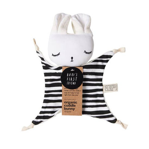 Organic Cuddle Bunny in Stripes | Wee Gallery