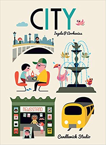 CITY | Oversized Picture Book