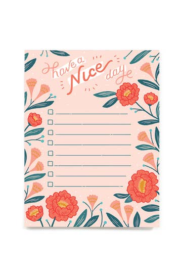 Have a Nice Day Notepad | Paper Raven Co