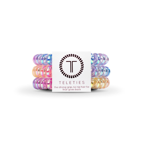 Eat Glitter For Breakfast | Small TELETIES | Set of Three
