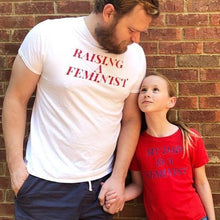 Load image into Gallery viewer, My Dad is a Feminist | Kid's Graphic Tee | Gunner & Lux