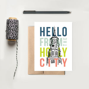 "Charleston ""Hello From the Holy City"" Card 