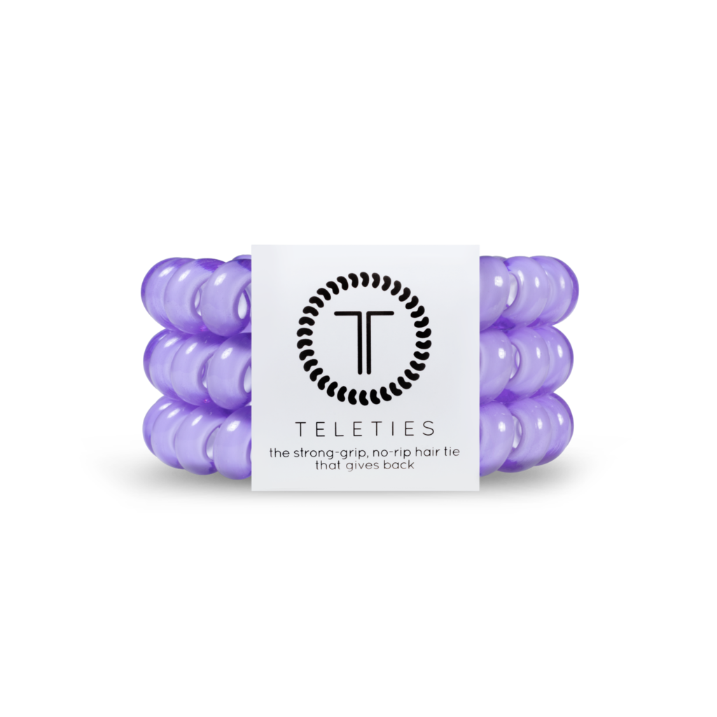 Lilac | Large TELETIES | Set of Three