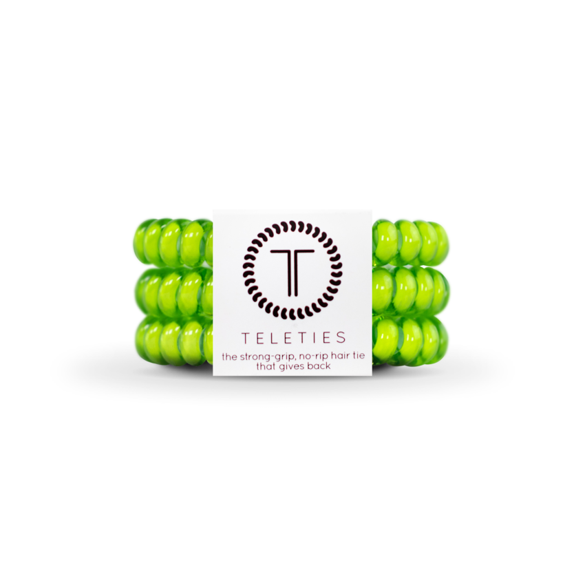 Lime | Small TELETIES | Set of Three