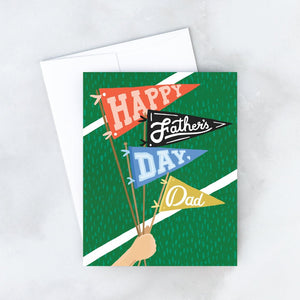 Father's Day Penants Greeting Card | Idlewild Co.