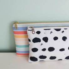 Load image into Gallery viewer, The HB Mini Clutch | B&W Dot | Hemming Birds