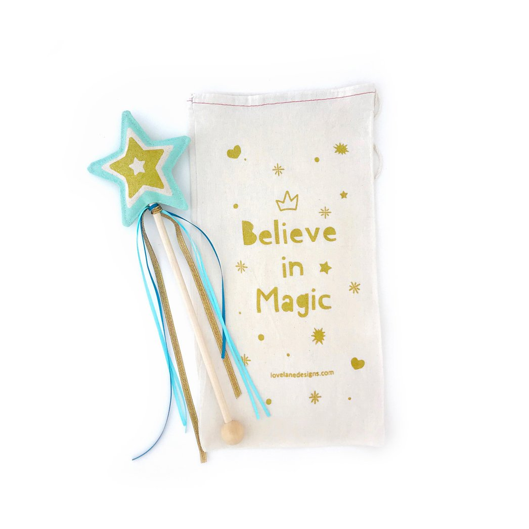 Mint Star Wand | Lovelane Designs