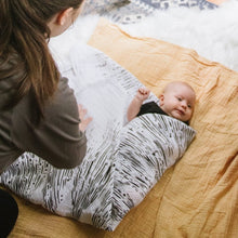 Load image into Gallery viewer, Starlight Organic Cotton Swaddle Tapestry | Baby Jives Co