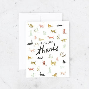 Million Thanks Greeting Card | Idlewild Co.