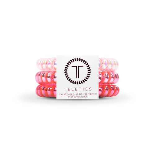 Think Pink | Small TELETIES | Set of Three