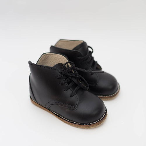 Milo Boot in Black Glove | size 4-12 | Zimmerman Shoes