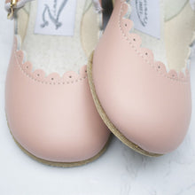 Load image into Gallery viewer, Scalloped Mary Jane in Blush Pink | Zimmerman Shoes