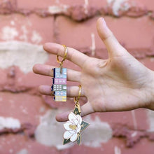 Load image into Gallery viewer, Rainbow Row Keychain | The Town Serif
