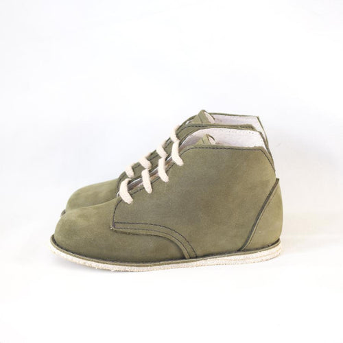 Milo Boot in Evergreen | size 4-12 | Zimmerman Shoes
