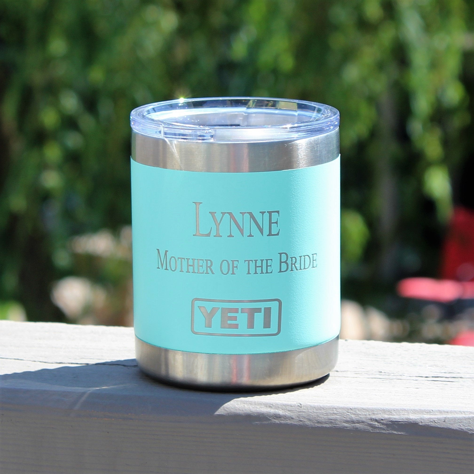 Personalized Black Yeti Rambler Tumbler Lowball 10oz Stainless Steel Personalized Groomsmen Gifts Father S Day Dad Corporate Gift