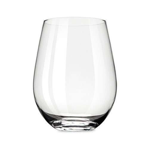Insulated Clear Stemless Wine Glass Set of 4