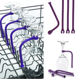Silicone Dishwasher Holder for Wine Glasses