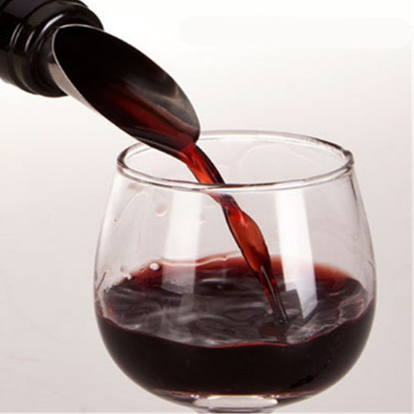 5-Piece Stainless Steel Wine Pourer